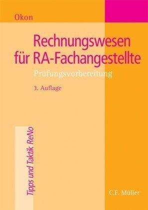9783811435520: Rechnungswesen für RA-Fachangestellte: Prüfungsvorbereitung