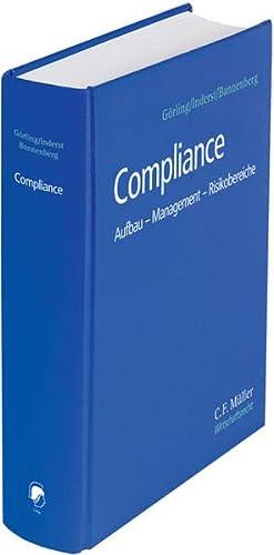 9783811436480: Compliance: Aufbau - Management - Risikobereiche