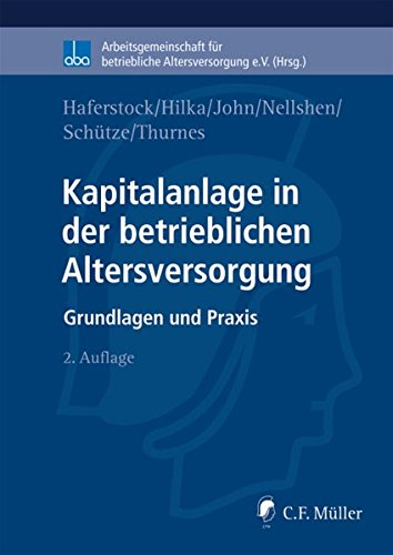 9783811437630: Kapitalanlage in der betrieblichen Altersversorgung: aba, Kapitalanlage in der betrieblichen Altersversorgung (German Edition)