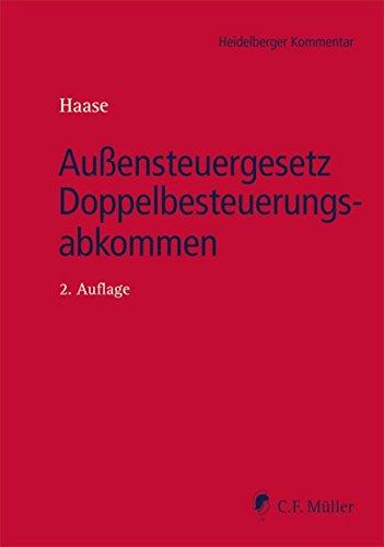 9783811439474: Außensteuergesetz Doppelbesteuerungsabkommen