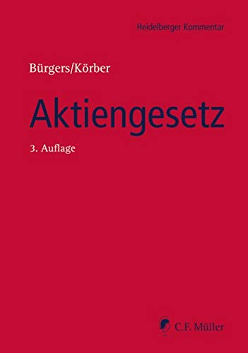 9783811442139: Aktiengesetz