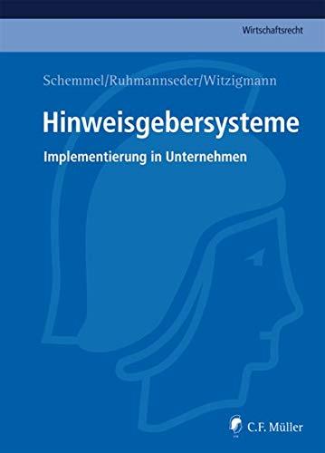 Hinweisgebersysteme: Alexander Schemmel