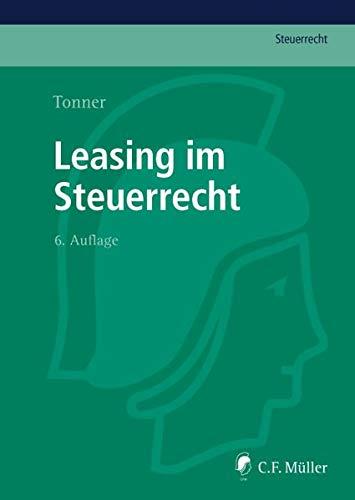 Leasing im Steuerrecht: Norbert Tonner