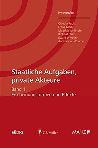 Staatliche Aufgaben, private Akteure: Claudia Fuchs