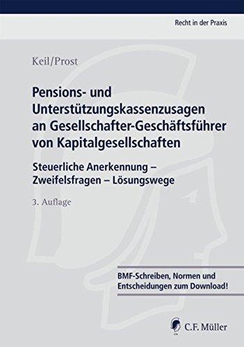 Pensions- und Unterstützungskassenzusagen an Gesellschafter-Geschäftsführer von ...
