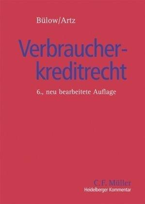 9783811452077: Heidelberger Kommentar zum Verbraucherkreditrecht