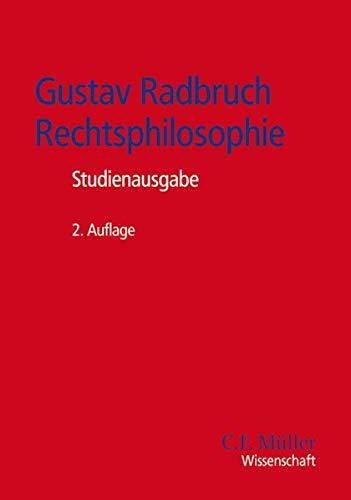 9783811453494: Gustav Radbruch - Rechtsphilosophie