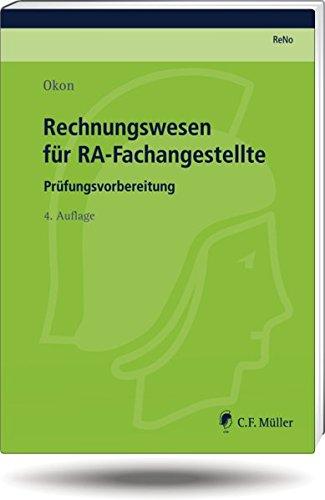 9783811455153: Rechnungswesen für RA-Fachangestellte