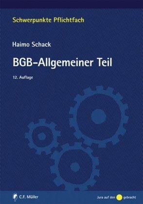 9783811480117: BGB-Allgemeiner Teil
