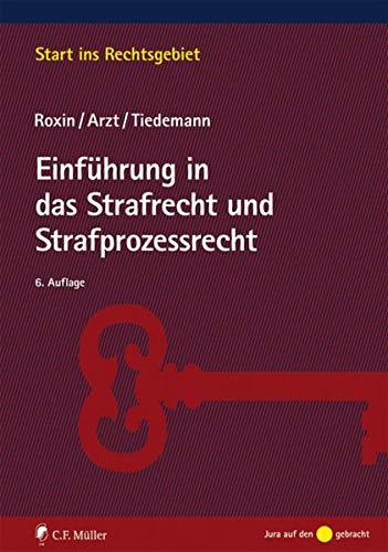 9783811494695: Einführung in das Strafrecht und Strafprozessrecht