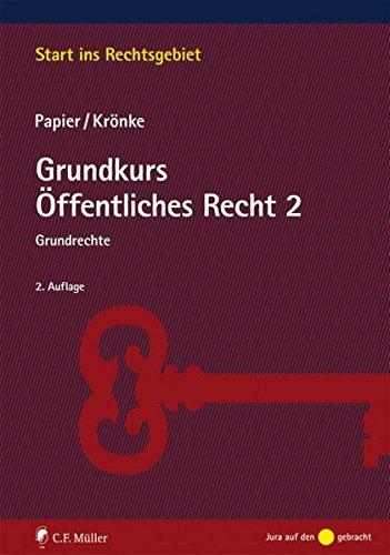 9783811495258: Grundkurs �ffentliches Recht 2: Grundrechte