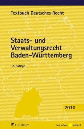9783811496248: Staats- und Verwaltungsrecht Baden-Württemberg