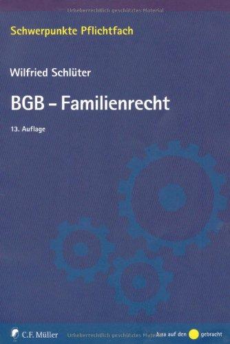9783811497115: BGB-Familienrecht