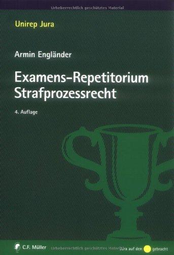 9783811497214: Examens-Repetitorium Strafprozessrecht