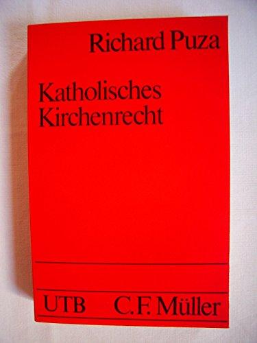 Katholisches Kirchenrecht (UTB, Band 1395)