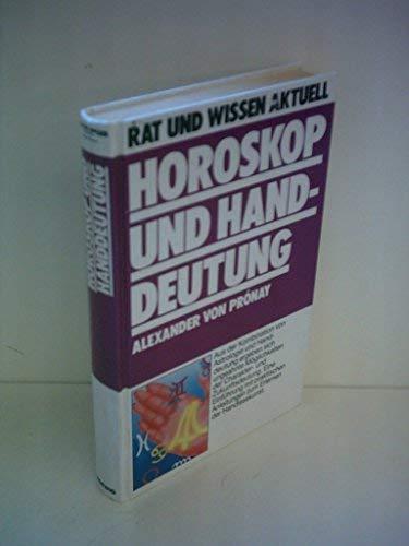 Horoskop und Handdeutung (ca. 1992): Pronay, Alexander von