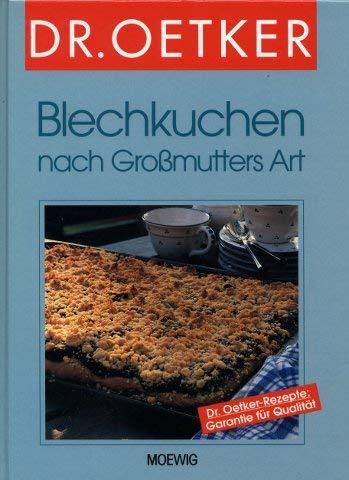 9783811814431: Blechkuchen nach Großmutters Art.