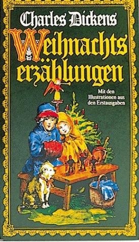 Weihnachtsmärchen / Weihnachtserzählungen 2 illustrierte Bände von Charles ...