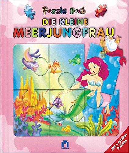 9783811818156: Die kleine Meerjungfrau - Puzzle Buch: Mit 6 großen Puzzles