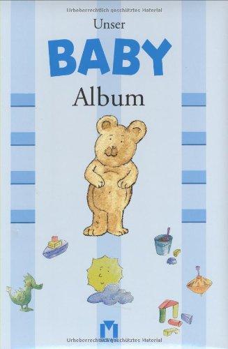9783811819894: Unser Baby- Album (blau/ Jungen).