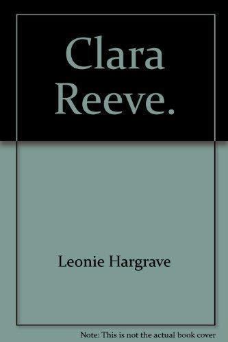 9783811822832: Clara Reeve.