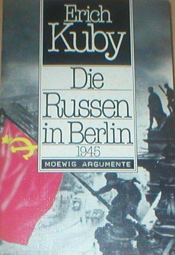 9783811834194: Die Russen in Berlin 1945 (Moewig Argumente)