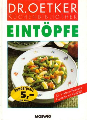 9783811842274: Eintöpfe (Dr.Oetker Küchenbibliothek)