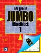 9783811856189: Der große Jumbo Rätselblock 1.
