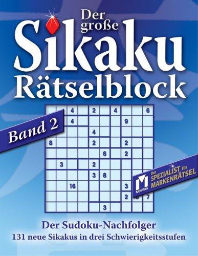 Der grosse Sikaku Rätselblock 2 - D. A. F. Marquis De Sade
