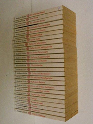 9783811872486: Moderne Küche. 25 Taschenbücher im Acryl-Hängeregal