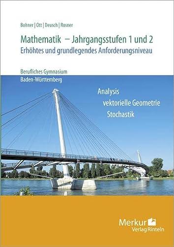 9783812003384: Mathematik für berufliche Gymnasien: Jahrgangsstufe 1 und 2 - Analysis und Stochastik
