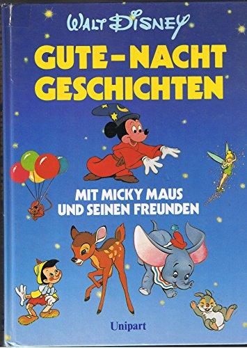 9783812230797: Gute Nachtgeschichten mit Micky Maus und seinen Freunden