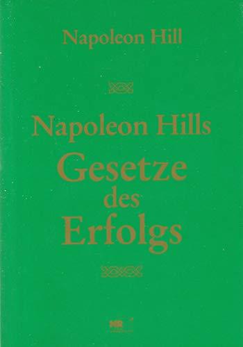 9783812500968: Napoleon Hills Gesetze des Erfolgs