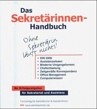 9783812503679: Das Sekretärinnen-Handbuch, zur Fortsetzung