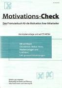 9783812505024: Check-Reihe Mitarbeiterf�hrung. Motivations-Check. Mit CD-ROM.