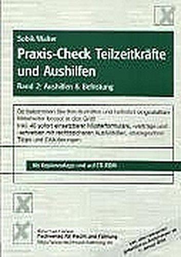 9783812505918: Praxis-Check Teilzeitkräfte und Aushilfen 2.