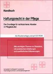 9783812506304: Handbuch Haftungsrecht in der Pflege
