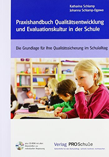 9783812520393: Praxishandbuch Qualitätsentwicklung und Evaluationskultur in der Schule, m. CD-ROM