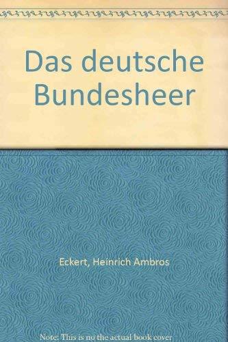 Das deutsche Bundesheer in characteristischen Gruppen entworfen und nach der Natur gezeichnet. Mit ...