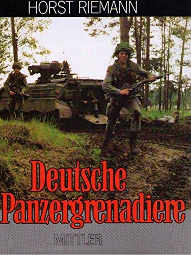 9783813203264: Deutsche Panzergrenadiere (German Edition)