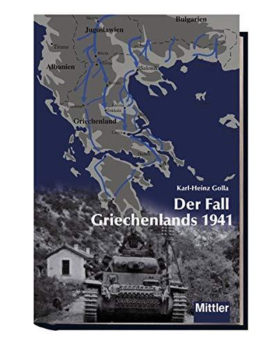 9783813208825: Der Fall Griechenlands 1941