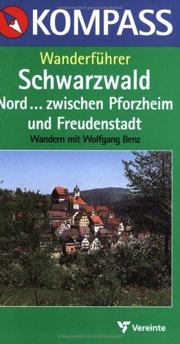 9783813400632: Schwarzwald Nord. Kompass Wanderführer.