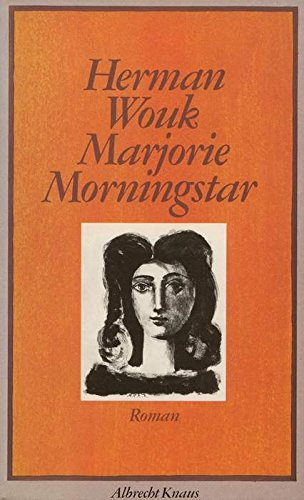 9783813500882: Marjorie Morningstar