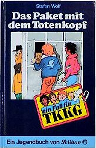 9783814401041: Ein Fall für TKKG, Bd.4, Das Paket mit dem Totenkopf
