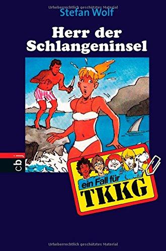 9783814401805: Ein Fall für TKKG, Bd.54, Herr der Schlangeninsel (Livre en allemand)