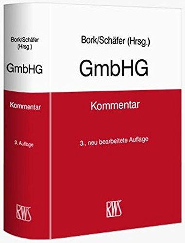 GmbHG: Reinhard Bork
