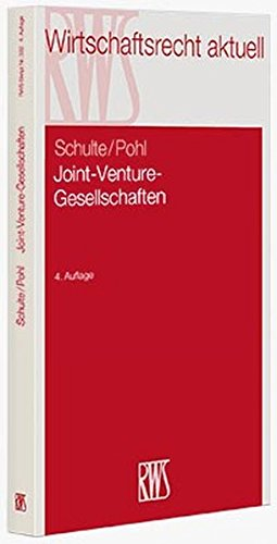 Joint-Venture-Gesellschaften: Norbert Schulte