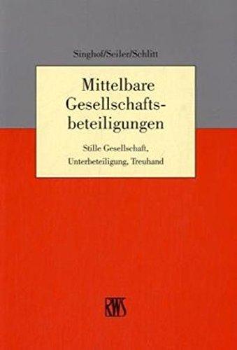 Mittelbare Gesellschaftsbeteiligungen: Michael Schlitt