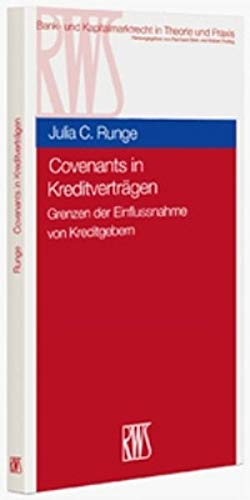 9783814528045: Covenants in Kreditverträgen