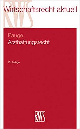 Arzthaftungsrecht: Burkhard Pauge
